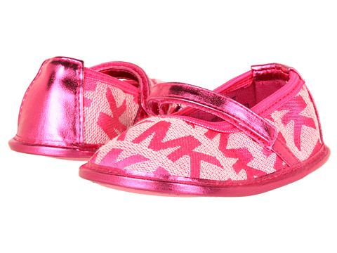 michael kors pink baby shoes images