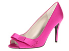 Stuart Weitzman Bridal & Evening Collection - Bowover (Fucshia Satin) - Footwear