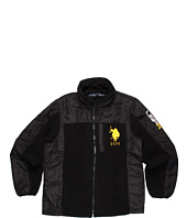 U.S. Polo Assn Kids - Fleece with Ripstop Trim and 3 embroidered logos