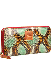 Dooney & Bourke - Python Large Zip Around Wallet