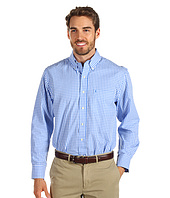 IZOD - Long Sleeve Gingham 1-Pocket Button Down
