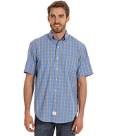 IZOD - Short Sleeve Saltwater Poplin Medium Plaid
