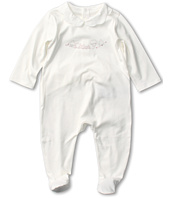 Chloe Kids - Interlock Pajama w/ Fancy Collar and Illustration (Infant)
