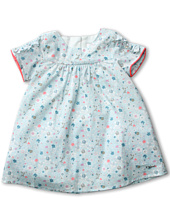 Chloe Kids - Liberty Flower Printed Dress w/ Gathered Sleeves (Infant)