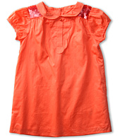 Chloe Kids - Percale Lining Dress w/ Sequins on Shoulders (Toddler)