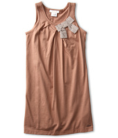 Chloe Kids - Jersey Dress w/ Satin Bow (Toddler/Little Kids)