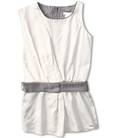 Chloe Kids - Sleeveless Dress w/ Belt and Elastic Waist (Little Kids)