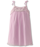 Chloe Kids - Silk Crepe Dress w/ Tied Straps (Little Kids/Big Kids)
