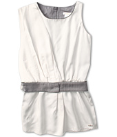 Chloe Kids - Sleeveless Dress w/ Belt and Elastic Waist (Little Kids/Big Kids)