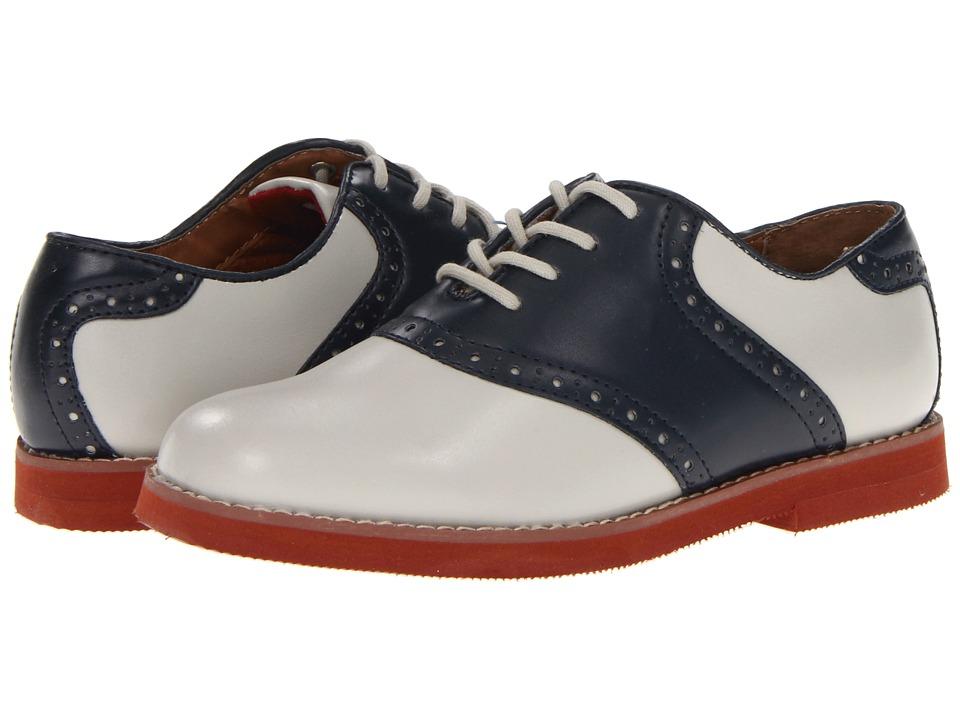 Florsheim Kids - Kennett Jr. (Toddler/Little Kid/Big Kid) (Bone/Navy) Boys Shoes