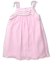 Chloe Kids - Silk Crepe Dress w/ Tied Straps (Big Kids)