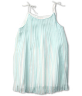 Chloe Kids - Satin Pleated Dress w/ Tied Straps (Little Kids/Big Kids)
