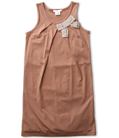 Chloe Kids - Jersey Dress w/ Satin Bow (Little Kids/Big Kids)