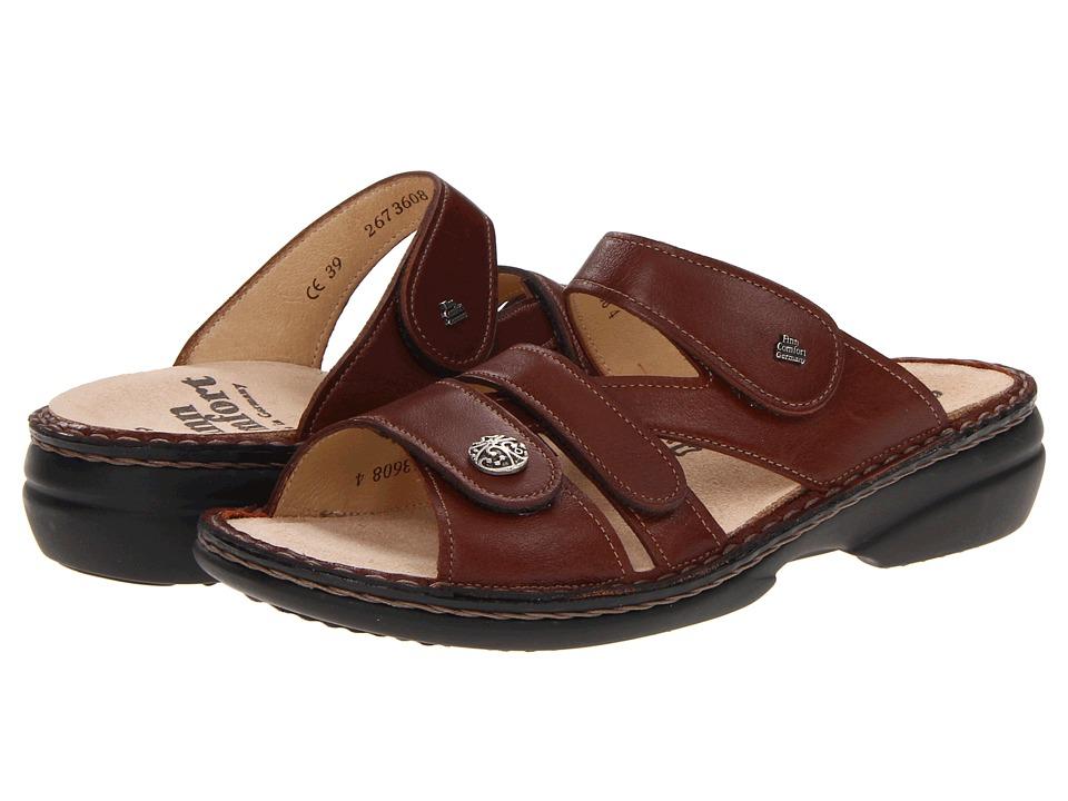 Finn Comfort Soft Ventura 82568 Saddle Womens Slide Shoes