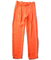 Chloe Kids - Satin Pants w/ Belt (Little Kids/Big Kids)