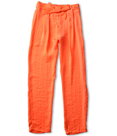 Chloe Kids - Satin Pants w/ Belt (Big Kids)