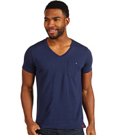 Ben Sherman - Antique Garment Dyed V-Neck Tee