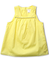 Chloe Kids - Sleeveless Percale Lined Blouse (Little Kids/Big Kids)