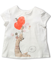 Chloe Kids - Jersey T-shirt w/ Front Illustration (Little Kids/Big Kids)