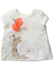 Chloe Kids - Jersey T-shirt w/ Front Illustration (Toddler/Little Kids)