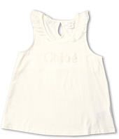 Chloe Kids - Jersey Tank Top w/ Collar Ruffles (Little Kids/Big Kids)