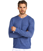 Vince - Long Sleeve V-Neck Pocket