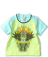 Versace Kids - S/S Colorblock Sleeve T-shirt (Infant)