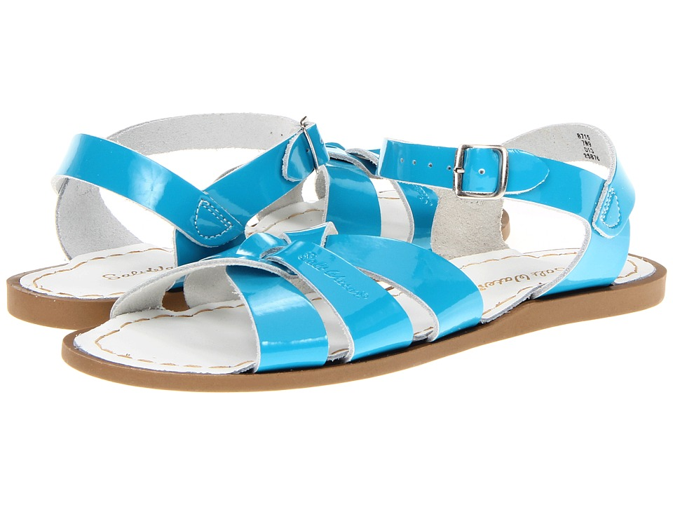 Salt Water Sandal by Hoy Shoes The Original Sandal (Big Kid/Adult) (Turquoise) Girls Shoes