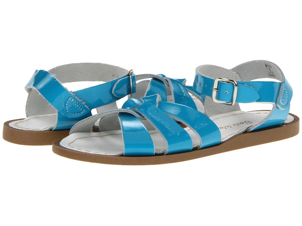 Salt Water Sandal by Hoy Shoes The Original Sandal (Toddler/Little Kid) (Turquoise) Girls Shoes