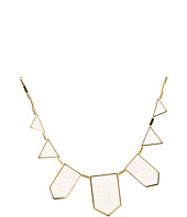 House of Harlow 1960 - White Sand Five Station Necklace