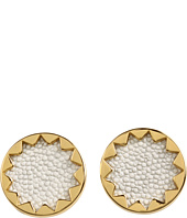 House of Harlow 1960 - White Sand Sunburst Studs