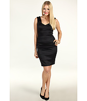 Jax - Satin Splice Double Strap Dress