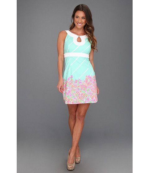 Lamar Sanborn: Cheap Lilly Pulitzer Candice Dress Sand Bar Blue ...