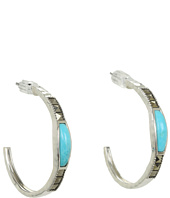 Judith Jack - Pearl Moon Item Hoop Earrings