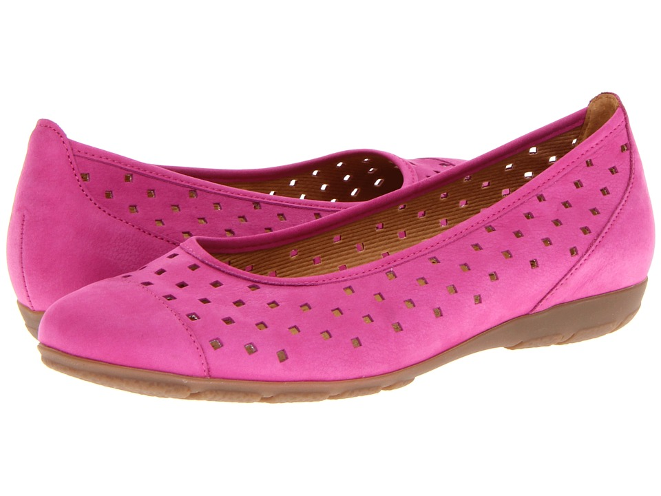 Gabor Gabor 44.169 Pink Womens Flat Shoes