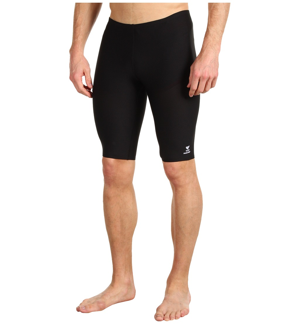 TYR Durafasttm Elite Solid Jammer (Black) Men's Swimwear