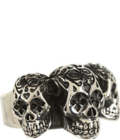 King Baby Studio - Day of the Dead Triple Skull Ring