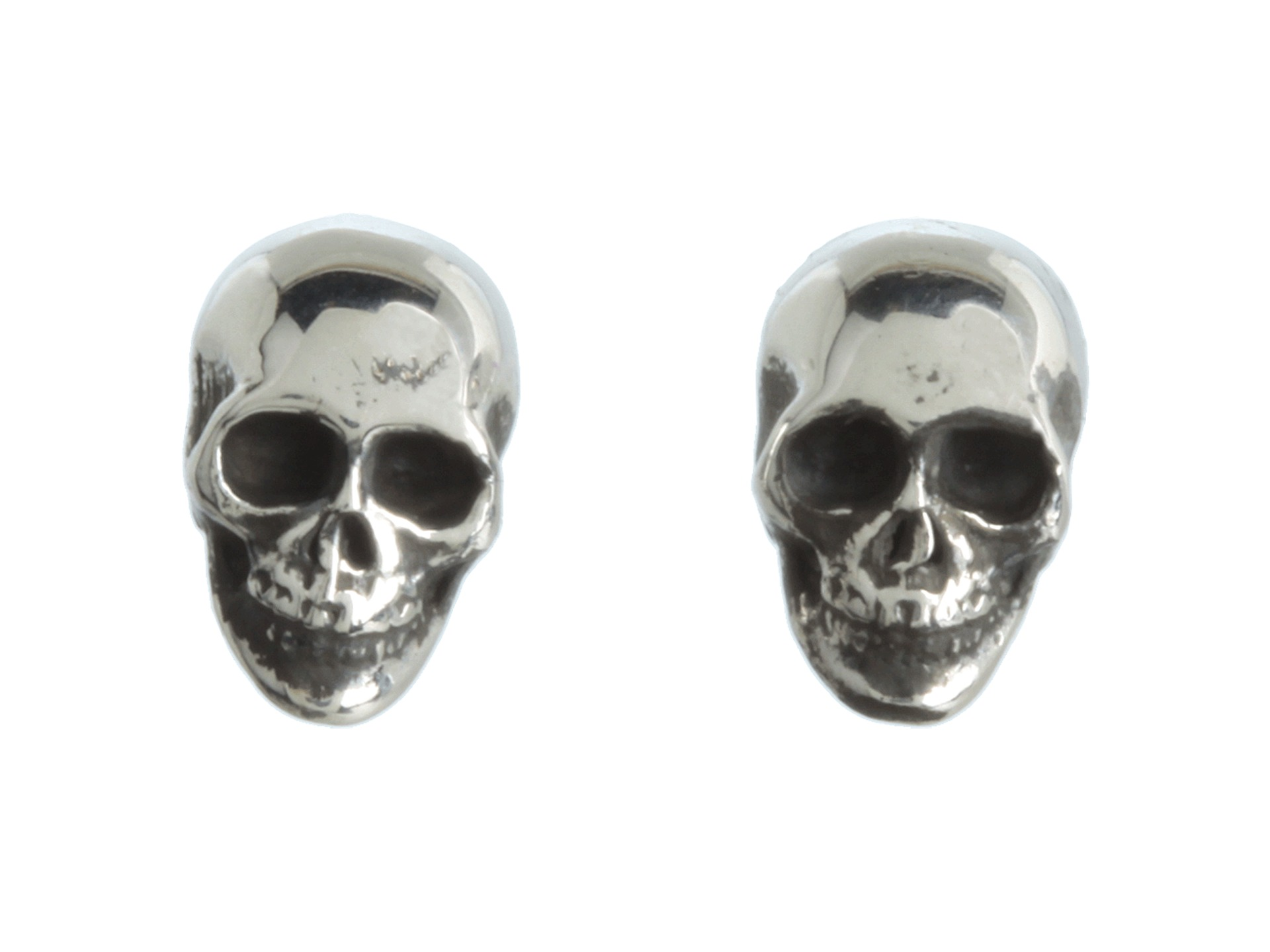 King baby studio skull post earrings free for King baby jewelry sale