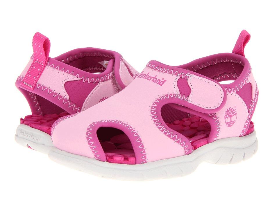 Timberland Kids - Little Harbor (Toddler/Little Kid) (Pink w/ Pink) Girls Shoes