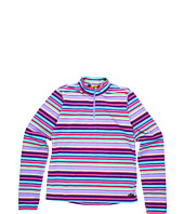Hot Chillys Kids - Girls' Micro Fleece Print Zip T (Little Kids/Big Kids)