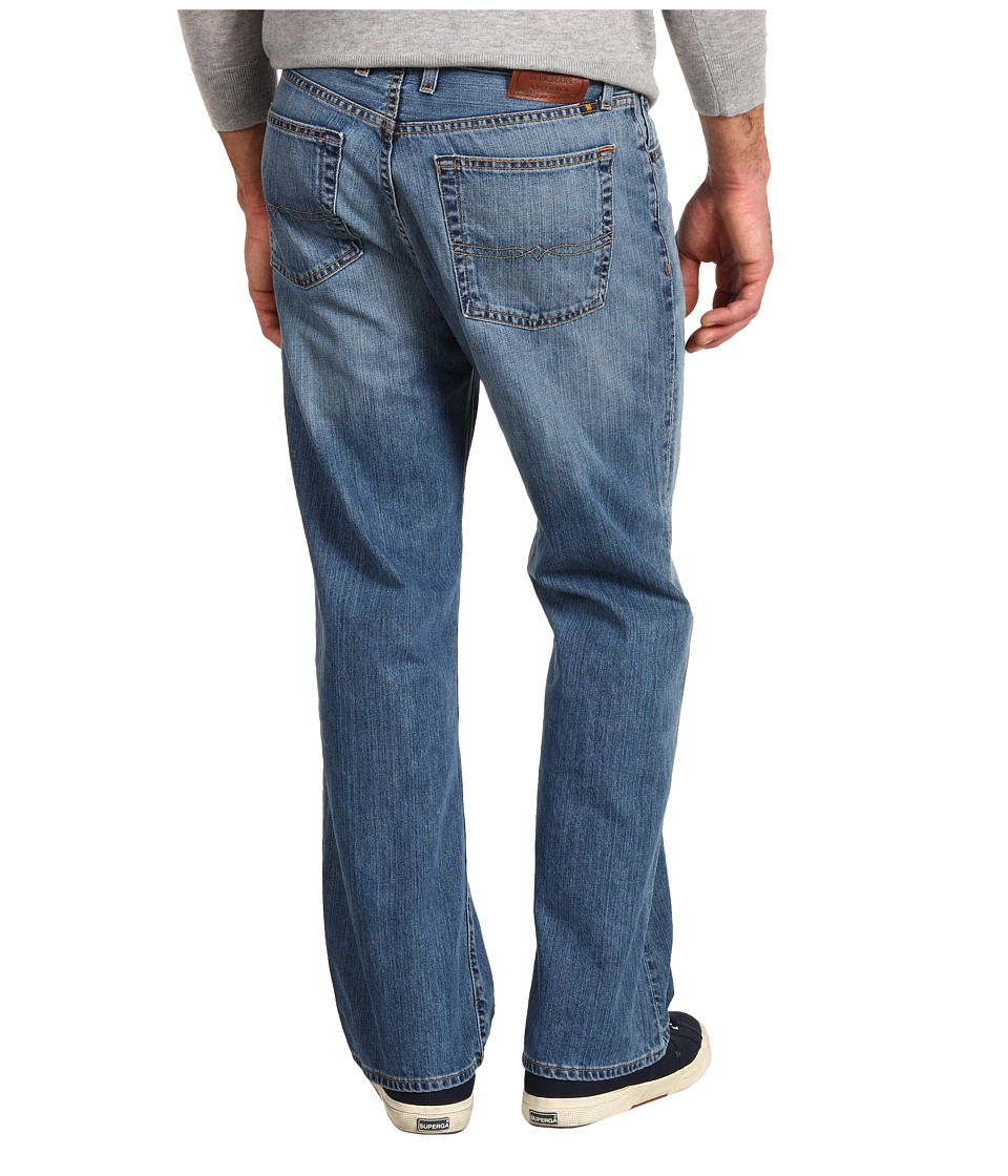 Lucky Brand 181 Relaxed Straight 30 in Light Cardiff (Light Cardiff) Men