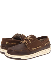 Timberland Kids - Ryan Springs Leather-and-Fabric Boat Shoe (Youth 2)
