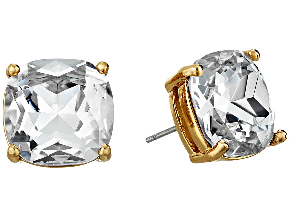 Kate Spade New York Small Square Studs Clear Earring