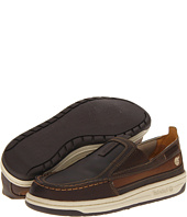 Timberland Kids - Ryan Springs Leather-and-Fabric Slip-On Boat (Youth 2)