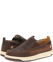 Timberland Kids - Ryan Springs Leather-and-Fabric Slip-On Boat (Youth)