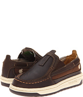 Timberland Kids - Ryan Springs Leather-and-Fabric Slip-On Boat (Infant/Toddler)