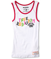True Religion Kids - Girls' Ringer Tank Top (Toddler/Little Kids/Big Kids)