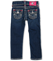 True Religion Kids - Girls' Julie Skinny Super T Brights in Memphis (Toddler/Little Kids/Big Kids)