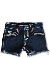 True Religion Kids - Girls' Bobby Cut-Off Super T Brights in Lonestar (Toddler/Little Kids/Big Kids)