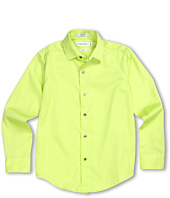 Calvin Klein Kids - L/S Sateen Shirt (Big Kids)